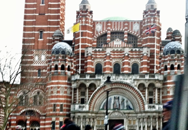 Westminster Cathedral hidden away in Victoria