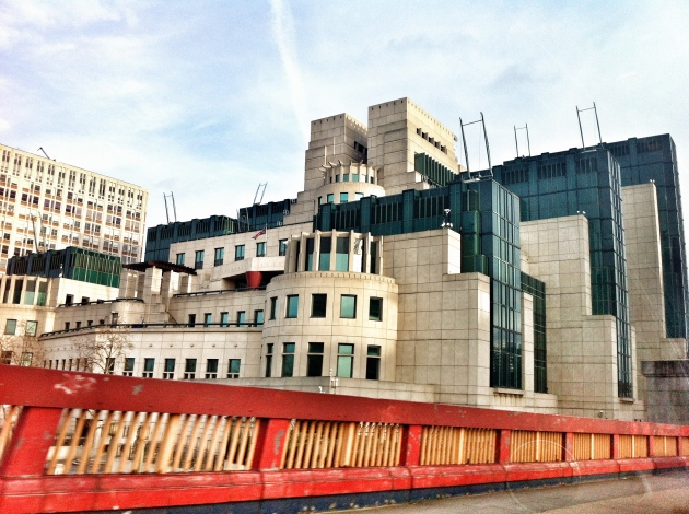 The Mi5 building - my place of employment!